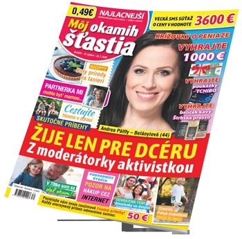 Môj okamih štastia - titulka č. 30/2020
