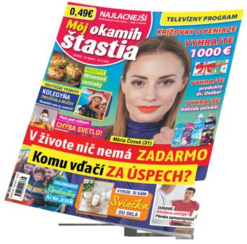 Môj okamih štastia - titulka č. 38/2020