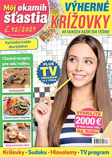 Môj okamih štastia - Krížovky - titulka č. 12/2021
